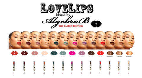 LOVELIPS kissed by AlgebraB Matte Liquid Lipstick