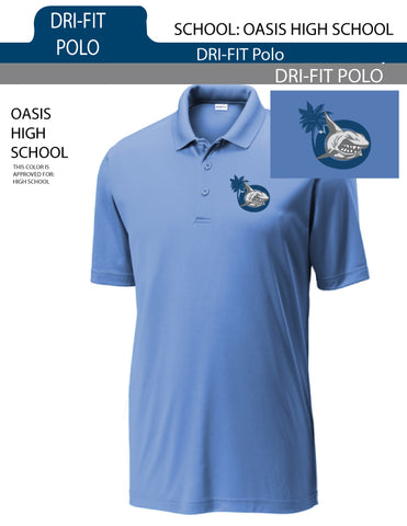 Drifit Mens Polo for Oasis High School