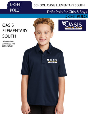 Oasis Elementary Dri_FIT POLO