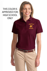 Cape Christian Ladies Embroidered Knit Polo