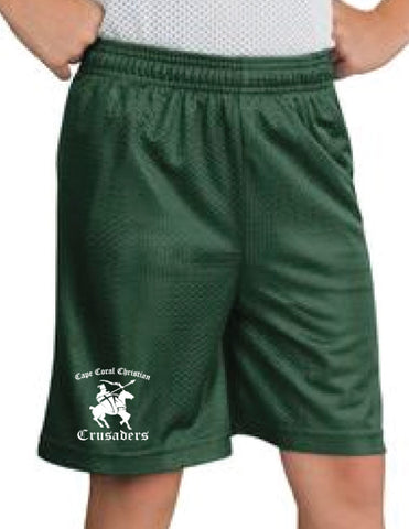 Cape Christian School PE Mesh Shorts