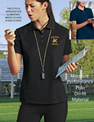 Cape Christian Ladies Dri-fit Polo