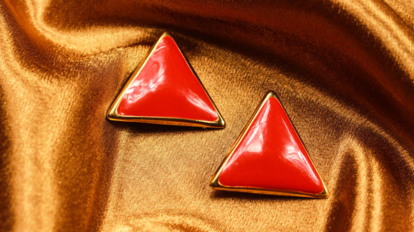 Red + Gold Triangle