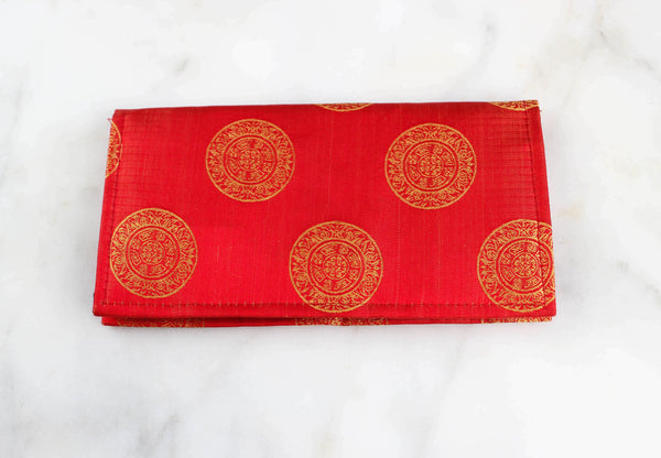 Red & Gold Clutch