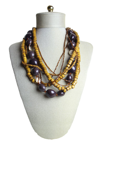 Multi-Beaded Necklace