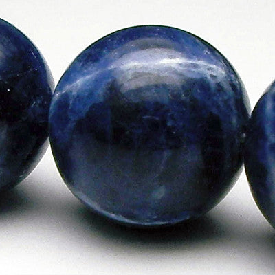 Sodalite, Opaque Dark Blue