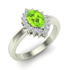 Glitz Design Launches Their New Product: Peridot Marquise Diamond Ring