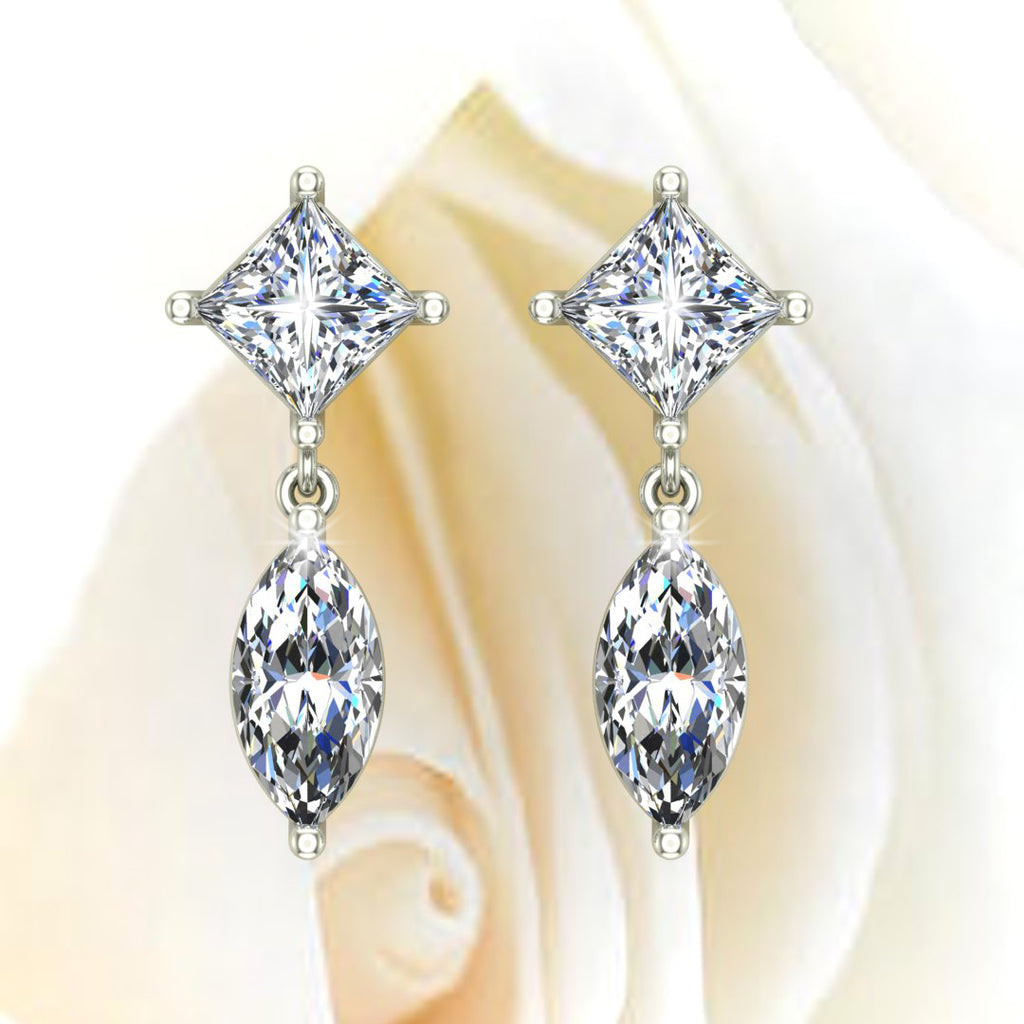 Diamond Earrings by Glitz Design
