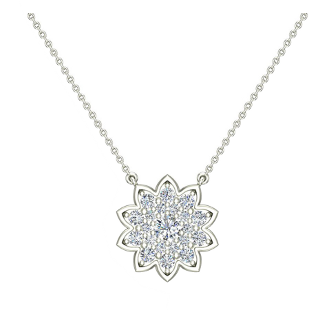 Diamond Everyday Things Necklace by Glitz Design