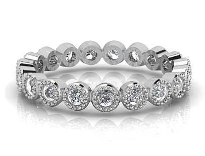 Diamond Wedding Bands by Glitz Design