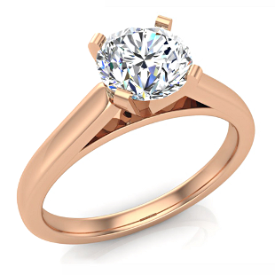 Solitaire Engagement Rings by Glitz Design