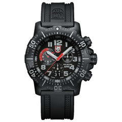 Luminox Sea Black Dial Rubber.Silicone Strap Men's Watch A.4241