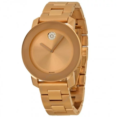 Bold Rose Gold-Tone Stainless Steel Watch 3600086