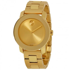 Bold Champagne Dial Yellow Gold Stainless Steel Watch 3600085