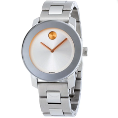 Bold Silver Dial Stainless Steel Watch 3600084