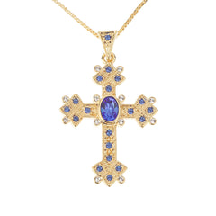 Jacqueline Kennedy Reproduction Queen Mother's Cross w/Chain