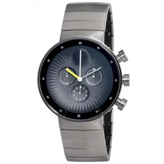 Edge Chronograph Black Dial Stainless Steel Men's Watch 3680009