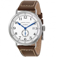 Navy Pioneer Automatic Silver Dial Men's Watch (H78465553)