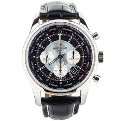 Breitling Transocean Chronograph Unitime 46mm - Ab0510u4/bb6 Complete