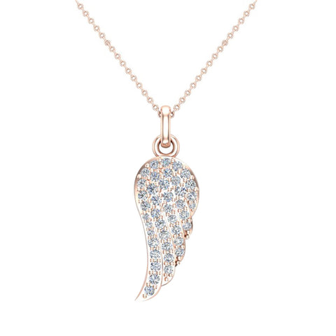 047 ct tw angel wing diamond pendant necklace 18k gold g hvs1 vs2 047 ct tw angel wing diamond pendant necklace 18k gold gvs mozeypictures Image collections