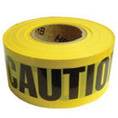CAUTION TAPE 3X1000' YELLOW 77-1001