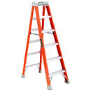 6' XHD FIBERGLASS STEP LADDER 1A 300LB DUTY RATING