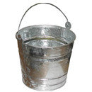 PAIL 10 QUART GALVANIZED