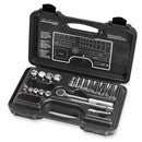 BLACKHAWK 20 PC 3/8 12PT DP & STANDARD SOCKET SET