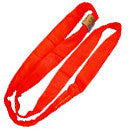 12' RED ROUND ENDLESS SLING