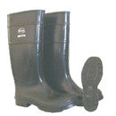 "BOSS PVC KNEE BOOT SIZE 11 PLAIN TOE 16"" TALL"