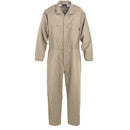 "FIRE-RESISTANT KHAKI LARGE COVERALL 9.5 OZ 42-44""  LAR"