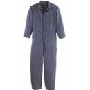 FIRE-RESISTANT BLUE 5X COVERALL 9.5OZ COTTON