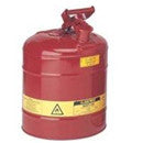 SAFEWAY 2.5 GALLON RED SAFETY GAS CAN