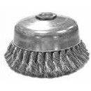 "ANDERSON USC5 5"" CUP BRUSH 5/8 11TD .020 WIRE"