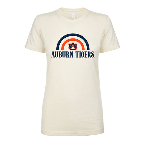 Auburn Tigers Rainbow Ladies Tee