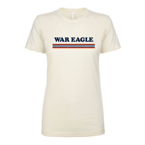 War Eagle Stripes Ladies Tee