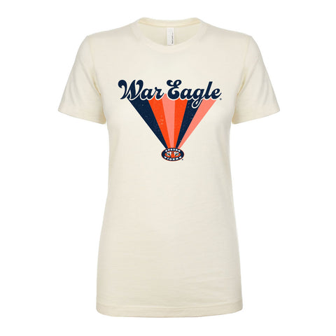 War Eagle Rainbow Burst Ladies Tee