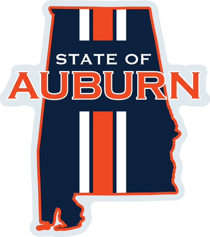 State of Auburn Decal
