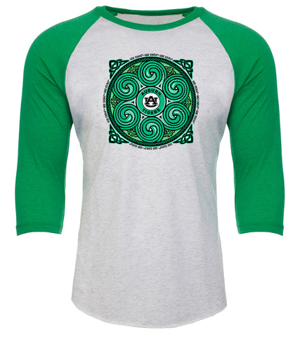 Irish Celtic Circle Raglan