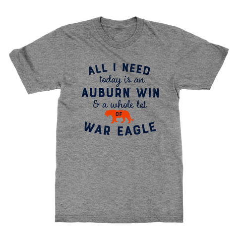 All I Need Today Auburn