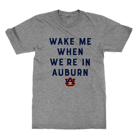 Wake Me When We're In Auburn