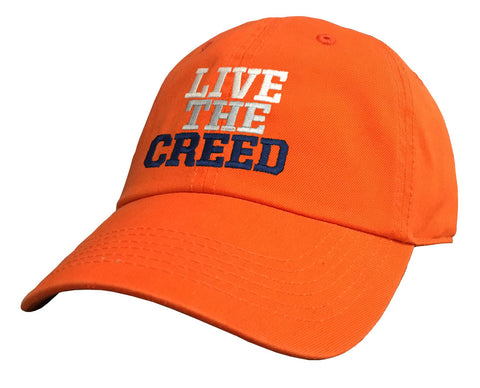 Live The Creed Orange Cap