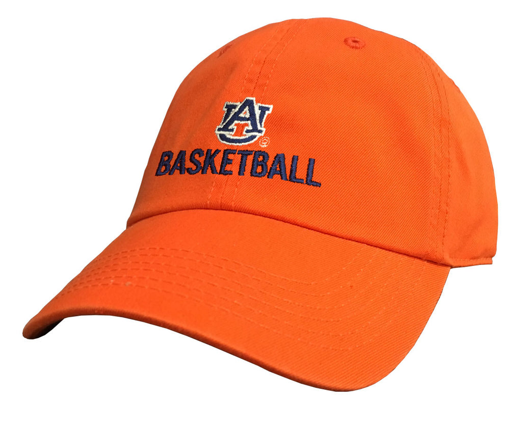 Auburn Basketball Orange Cap