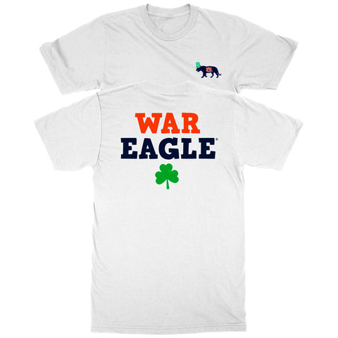 Auburn Battle Cry Shamrock