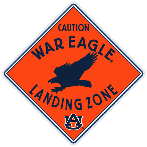 War Eagle Landing Zone Decal