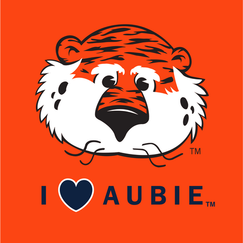 I Heart Aubie Decal