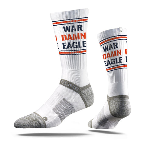 Auburn War Damn Eagle Socks