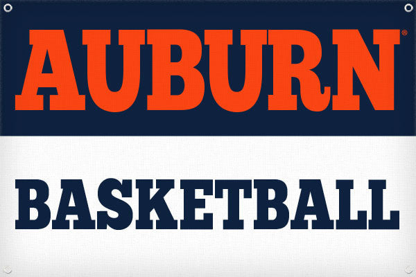 Auburn Basketball - 2ft x 3ft