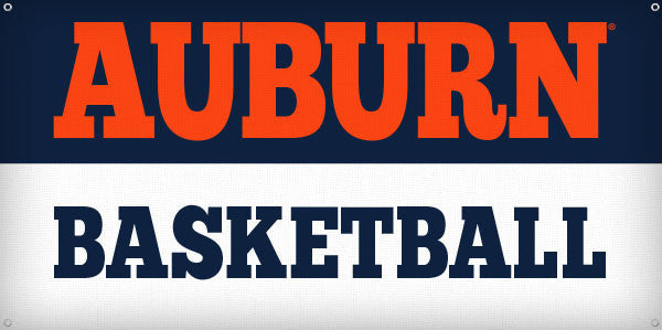 Auburn Basketball - 3ft x 6ft