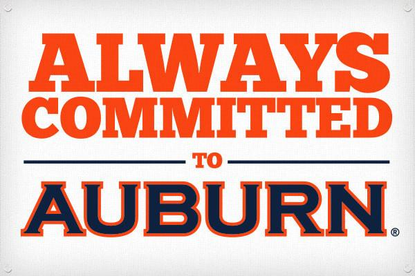 Always Committed to Auburn